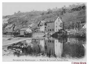 Le Moulin Fayol dans les années 1910.
