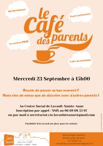 """""""Café des Parents"""" @ Centre Social Gaston Henri Paillhou"""