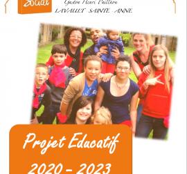 Couverture projet éducatif CSR
