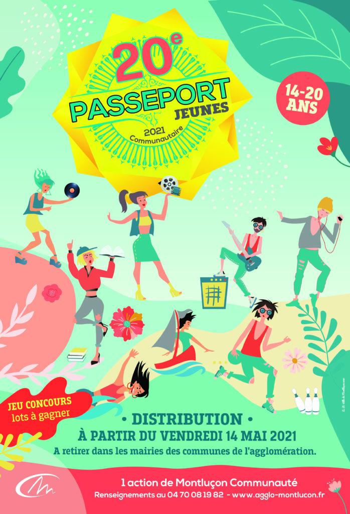 Distribution des Passeports Jeunes 2021 @ Centre Social Gaston Henri Paillhou